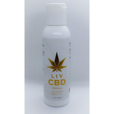 Body Oil cbd lavendar 1