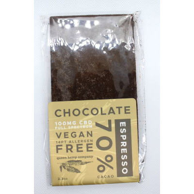 Espresso chocolate CBD bars