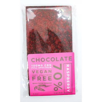 Raspberry CBD chocolate bar
